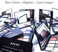 Wholesale 100 Original American NY Cosmetics Makeup Eye Shadow color styles Portable Waterproof Long lasting Eyeshadows US Makeup Drop Shipping A