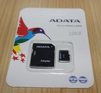 al por mayor la memoria 64-Micro Sd 128 GB 64 GB 32 GB 16 GB 8 GB Micr SD Tarjeta MicroSD CLASS6 TOP TF Tarjeta de Memoria C6 Flash SDHC Adaptador SD Blanco Naranja Paquete minorista