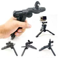 Wholesale Portable Carry Mini Monopod Tripod Stand Mount Holder tripod gopro heard mount holder adapter For Gopro Hero