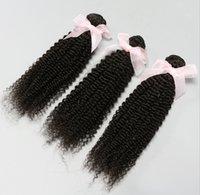 Cheap Change Myself Hair!Brazilian Peruvian Malaysian Indian Virgin Hair 3pcs Kinky Curly Human Hair Extensions Hair Weave 100g pcs 6A Grade