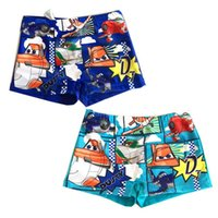 Cheap Wholesale-2015 New Arrival 1 Piece Cars Boys Swimming Trunks Cute Baby Boys Swimwear Quality Shorts for Boys