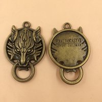 Wholesale Metal Alloy Wolf Charms Jewelry Pendant Handmade x27mm per T540 New