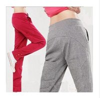 bmx bikes - Women s Harem Pants Fleece Sweatpants Straight Sports Casual Hip Hop Pants M L XL XXL New