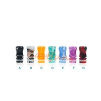 best electronic cigar - Best E Cigars Acrylic Colorful Drip Tips Fit eGo Atomizers Mechanical Mod Tanks Electronic Cigarette Top Cap Mouthpiece Free Ship