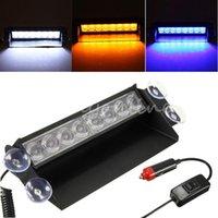 Wholesale 2015 Hot Selling LED Car Auto Super Strobe Flash Dash Emergency Light Warning Lamp Flashing Modes Adjustable angle