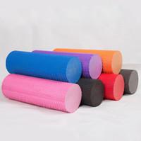 Wholesale 30x14 cm EVA Yoga Pilates Exercise Fitness Foam Roller Massage Point Colorful Useful