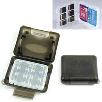 Wholesale New Plastic Case For Micro SD TF Memory Card Storage Holder Box Protector