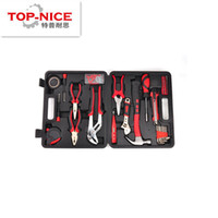 Wholesale New set Household Electrical Tool Box Hardware Repair Tool Set For Home Use Screwdriver Hammer Wrench Pliers Tool Kit