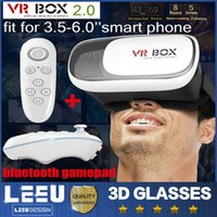 3d movies - 2016 New Head Mount Plastic VR BOX Version VR Virtual Reality Glasses Rift Google Cardboard D Movie for quot quot Smart Phone