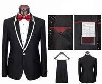Custom Made best suit colors - Custom Made New Style Groom Tuxedos Colors Best man Suit Peak Lapel Groomsman Men s Wedding Suits Bridegroom Jacket Pants Tie Girdle J735