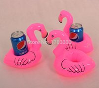 flamingo - 200PCS Flamingo Shape Drink Can Holder Inflatable Pool Toy Kid Party Favor Supply Gift Inflatable Swimming Pool Toy Party