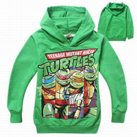 hoodies wholesale - Teenage mutant ninja turtles children kids boys sweatshrts Spring Autumn boys outerwear hoodies clothing to years old children clothing