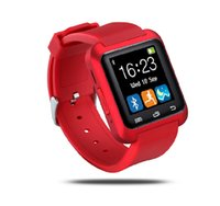 Wholesale Bluetooth Smartwatch U8 U Smart Watch for iPhone puls S Samsung S4 Note HTC Android Phone Smartphones Android Wear