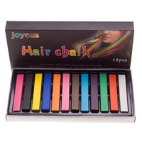 Wholesale DHL Fashion Colors set Chalk Hair Temporary Hair Color Dye Pastel Chalk Bug Rub In stock