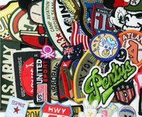 assorted patches - 24pcs random assorted Iron on or Sew on Embroidered patch Motif Applique D20010001 H24