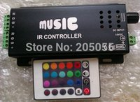 audio controller driver - v A W Music IR Controller Audio Sound Driver Activated IR Controller strip light LED controller For RGB LED Strips Black