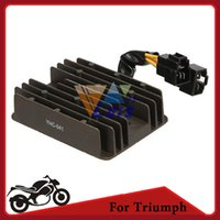 Wholesale For Triumph Daytona Rectifier Motorcycle Bike v Voltage Regulator Rectifier Black order lt no track