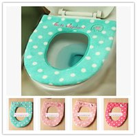 Wholesale Melody cute cartoon kitty plush baby elephant winter melody rings Commode toilet seat part cushion cover