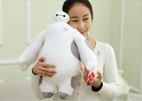 Wholesale 12inch cm BIG Hero Baymax plush Toy Baymax stuffed animal plush bececos Robot Hands Moveable toys