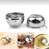 Wholesale Tea Infuser Strainer Locking Tea Spice Diam cm Stainless Steel Stain Multifunction Ball PTCT