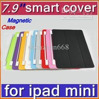 7.9'' other other CHeap Hot DHL 50pcs Smart Magnet Cover Case for Apple iPad mini 7.9''PC Stander Sleep Wake UP PTA-AH