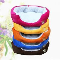 Wholesale New Pet Supplies Dog Kennel Fashion Comfortable Warm Lamb Cotton Nest and Easy to Clean Dog Bed MC