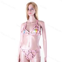 Wholesale Female Fetish Body Harness Restraints Special Fetish Bondage Sex Toys Full Body Bind Restrict Female Chastity Belt Sex Toys Hot Sale
