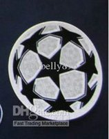 Wholesale New soccer European champions league patch football souvenir jerseys free fast shipping
