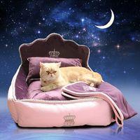 pet bed - Luxury Princess Pet Bed Dog Bed Cat Mat Sofa Dog House Dog Nest Sleep Cushion Kennel New