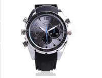 Wholesale 4G GB G P W5000 Waterproof Spy Watch Camera mini DV IR Night Vision DVR PIECE
