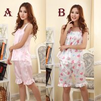 Wholesale Womens Sexy Braces Shirts Blouse Shorts Pants Pajama Sets Sleepwear Intimates