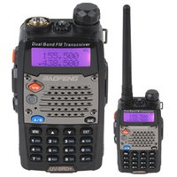 Wholesale BAOFENG UV RD VHF UHF MHz Walkie talkie two way radio Dual Watch Reception Supported SEC_043