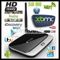 full hd media player - KODI15 Q7 CS918 RK3188TQuad Core Android Smart TV Box Media Player GB GB IPTV Wifi Antenna MK888 Full HD P Remote Control