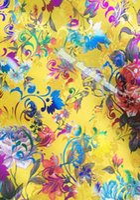 Wholesale m width cm Brocade cloth fabric costume Hanfu clothing cheongsam COS fabrics brocade bronzing peony flower