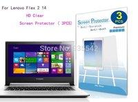 Gros- [3-PACK Invisible] Pour Lenovo Flex 2 14 14-pouces écran tactile portable Notebook Ultra Premium HD Film de protection