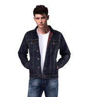 blue jean jacket - 2015 New Arrival Thick Denim Jacket Men Blue Jean Jacket Jaqueta Masculina Jean Jacket For Men Casaco Masculino Trucker Jacket
