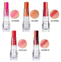 Wholesale 2015 Fashion Women Sexy Tint Bar Triple Shot Color Lipstick Cosmetic Gift Gradient Lipgloss Lip Cream Rouge