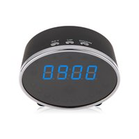 alarm clcok - Full HD P Mini Clock Cam H Degree Wide Angle MOV Format Security Alarm Clcok Motion Detection Spy Hidden Support G TF Card