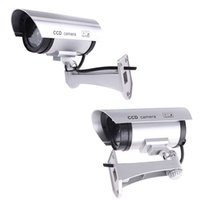 Wholesale Wireless Office Home Security CCTV Products Cameras Waterproof IR LED Surveillance Fake Dummy IP Camera CCTV Monitor S89