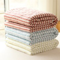 air conditioning components - Left ear yield knitted cotton striped summer was cooler air conditioning was Tianzhu cotton Cotton Japanese style