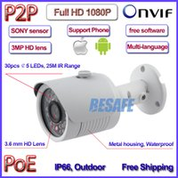 axis bullet camera - POE Bullet P security waterproof cctv surveillance Night vision camera ip support iphone android mm lens Axis bracket