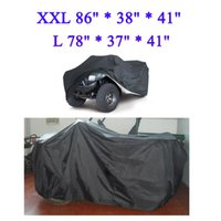 atv covers - Universal Size L XXL Quad Bike Waterproof ATV Cover Parts Vehicle Tractor Motorcycle Car Covers Resistant Dustproof Anti UV