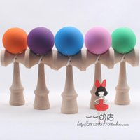 wooden ball - Factory direct sales Game ball skills with a sword jade jade sword ball toall toy wooden sword rubber paiy wooden sword rubber paint kendama