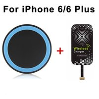 power bank charger - Qi Wireless Charger iPhone Plus Wireless Charging Receiver Pad Qi Wireless Charger Transmitter Charging Pad