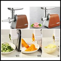 Wholesale Commercial Electric Meat Grinder Mincer Sausage Stuffer Cutter sausage maker