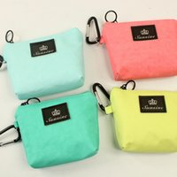 Wholesale 2016 Coin Purses Pp Coin Purses Women Beige Sky Blue Pink Plain Korean Youth Home Furnishing New Trapezoid Small Bag Purse