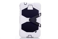 Wholesale 12Color PC Extreme Duty Military No logo Stand Belt Clip Cover Case High Protector Protective for New Tab T330