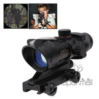 Wholesale Rifle Scopes Trijicon ACOG TA31RCO A4 NSN1240 Rifle Scope NO Aiming Rule Sight Telescope with Gun Mount