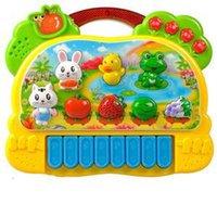 Wholesale Hot Baby Kids Toy Musical Instrument Useful Popular Farm Animal Piano Music Developmental Toy New Fashion