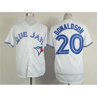 fashion baseball jerseys - Blue Jays Josh Donaldson White Baseball Jerseys Fashion Baseball Shirts New Baseball Uniforms Cool Base Jersey Mens Outdoor Apparel